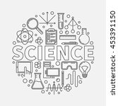 science round illustration.... | Shutterstock .eps vector #453391150