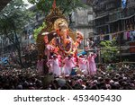 mumbai  india   september 22... | Shutterstock . vector #453405430