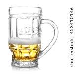 Almost Empty Beer Glass ...