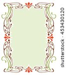 abstract elegant frame. design...