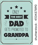 vector quote   only the best... | Shutterstock .eps vector #453437890