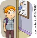 illustration of a little boy...   Shutterstock .eps vector #453460903