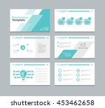 page layout design template for ... | Shutterstock .eps vector #453462658