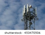 technology on the top of the... | Shutterstock . vector #453470506