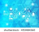 health icon vector   Shutterstock .eps vector #453484360