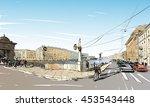 russia. saint petersburg....   Shutterstock .eps vector #453543448