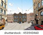 russia. saint petersburg....   Shutterstock .eps vector #453543460