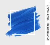art abstract background brush... | Shutterstock .eps vector #453570274