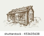 Traditional Finnish Old Rural...