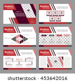 set of infographic elements.... | Shutterstock .eps vector #453642016