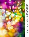 glittering shine bulbs lights... | Shutterstock . vector #453650938