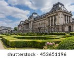 Royal Palace of Brussels (Palais Royal de Bruxelles, 1783 - 1934) - official palace of King and Queen of Belgians in centre of nation