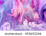Abstract Purple Paint...