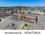 Cracow  Poland. View On The Th...