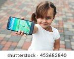 riga  latvia  july 17  2016 ... | Shutterstock . vector #453682840