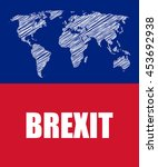 brexit abstract business banner | Shutterstock .eps vector #453692938