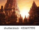 Amazing Sunrise At Prambanan...