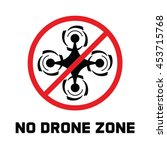 Flying Drone Caution Template....