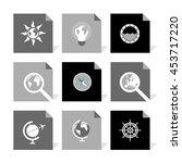 vector flat icons set   travel