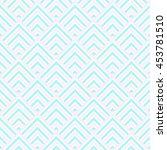 pattern stripe seamless pink ... | Shutterstock .eps vector #453781510