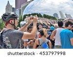 chicago  illinois   july 17 ... | Shutterstock . vector #453797998