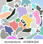 creative geometric background... | Shutterstock .eps vector #453806260