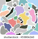 creative geometric background... | Shutterstock .eps vector #453806260