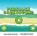 parallax background with user...