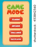 game mode select screen game...