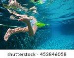 Funny Underwater Photo Of Baby...