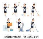 set of housemaid characters...