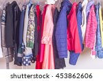 choice of fashion clothes of... | Shutterstock . vector #453862606