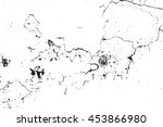 distressed overlay texture of... | Shutterstock .eps vector #453866980