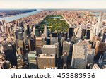 Aerial View Of Central Park And ...