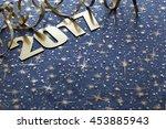 happy new year 2017 | Shutterstock . vector #453885943