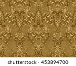 Luxury Floral Damask Wallpaper...