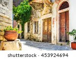 Charming Narrow Streets Of...