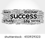 success word cloud collage ... | Shutterstock .eps vector #453929323