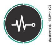 life line   heart beat ... | Shutterstock . vector #453944608