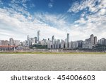 cityscape and skyline of... | Shutterstock . vector #454006603