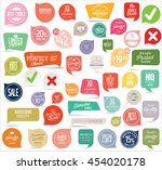 badges and labels collection | Shutterstock .eps vector #454020178