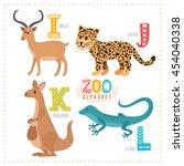 Cute Cartoon Animals. Zoo...