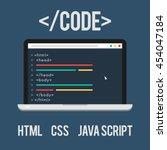 web development  code  html ...