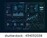 human user display . mixed media | Shutterstock . vector #454052038