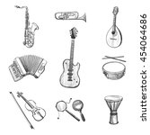 Vector Set Of Sketches Of...