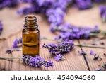 Herbal Oil And Lavender Flower...