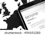 """terrorist"" Word On Smartphone..."