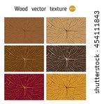 texture of the wood cross cut ... | Shutterstock .eps vector #454111843