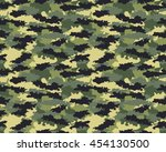 fashionable camouflage pattern  ... | Shutterstock .eps vector #454130500