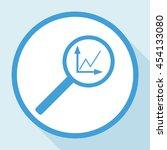 instumenty chart with... | Shutterstock .eps vector #454133080